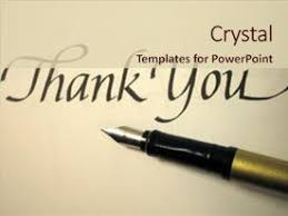 powerpoint presentation templates for thank you powerpoint template yellow sticky notes with thank you and blue