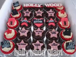 hollywood theme cupcakes did these last december during th u2026 flickr