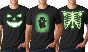 Glow Halloween Costume Glow Dark Shirts Groupon Goods