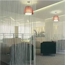 zebery decorative door string curtain beads wall panel fringe