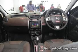 new nissan 2017 2017 nissan terrano with 22 new features launched in india