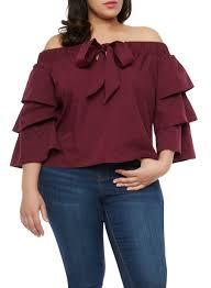 s plus size blouses the shoulder tops for plus size rainbow