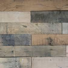 weathered wood wall nuvelle deco planks weathered gray 1 2 in thick x 4 in wide x 24