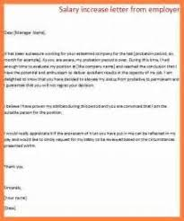 salary increase letter example professional cv writing in karachi
