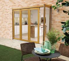 Oak Patio Doors 3000mm 10ft 4 Door 3 1 Pattern Lpd Nuvu Oak Folding Patio