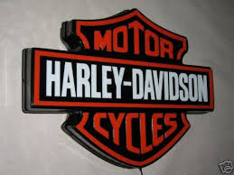 harley davidson lighted signs harley davidson 3d led lighted sign 19736441