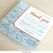 Thank You Note After Dinner Party - table thank yous imbue you
