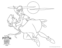 peter pan color disney coloring pages color plate coloring