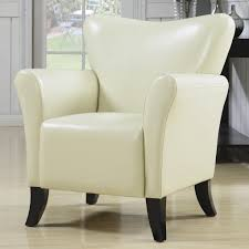 upholstered club chair accent seating contemporary vinyl upholstered accent chairs