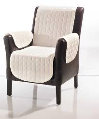 protège fauteuil et canapé 2 accoudoirs matelassés taupe