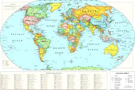 printable world map a1 world map countries with latitude and longitude new buy world