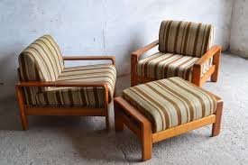 Danish Teak Armchair Danish Teak Armchairs With Footrest 1970s For Sale At Pamono