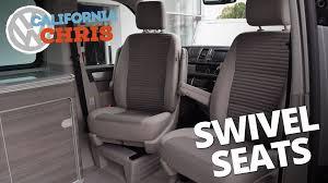 swivel captains chair volkswagen california ocean swivel seats captain seats youtube