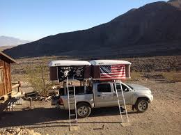 Ford F250 Truck Tent - two roof top tents installed on the same toyota tacoma truck www