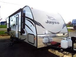 jayco ultra light travel trailers haylettrv com 2015 white hawk 25bhs ultralite bunkhouse travel