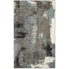 Blue Grey Area Rug 9 Best Rug Images On Pinterest Gray Area Rugs Modern And Rug Size