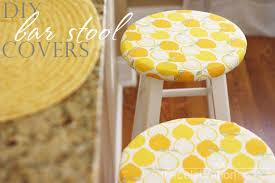 Bar Stool Seat Covers Diy Bar Stool Chair Covers Diy Bar Stools Diy Bar And Stool Covers