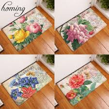 Thin Bathroom Rugs Get Of Flower Carpet In Mujvileonl
