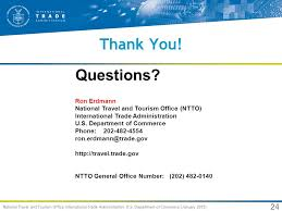 area code 202 us government new research on the international travelers to the u s ppt
