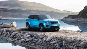 light blue range rover range rover evoque landmark celebrates 600k sales