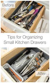 Small Kitchen Organizing - tips for organizing small kitchen drawers living well mom