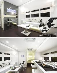 Trailer Home Interior Design Big Rig Truck Style Deluxe Designer Mobile Home