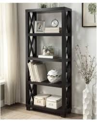 coaster 4 drawer ladder style bookcase check out these bargains on coaster 4 shelf humfrye bookcase