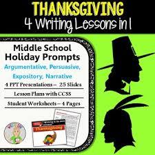 thanksgiving writing bundle argumentative persuasive
