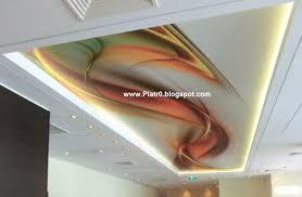 decoration faux plafond salon decor placoplatre ba13 chambre a coucher 2017