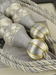 Drapery Tassel Tiebacks 6 Colors Qym45 Polyester Curtain Tassel Tiebacks Pair