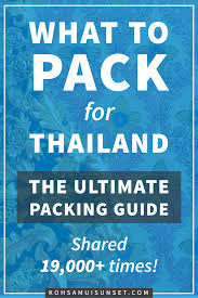 Tropical Clothes For Travel What To Pack For Thailand Clothes Shoes U0026 Gear To Pack For Thailand