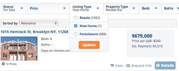 homes com serves up 80 000 new home listings