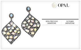opal october opal jewelry october birthstone jewelry hsn