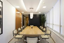 modern office conference table office and workspace designs brazilian modern office interior