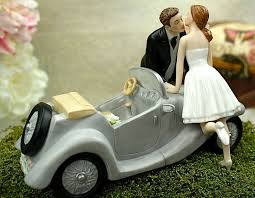 car wedding cake toppers i ll u 4 car wedding cake topper wedding collectibles