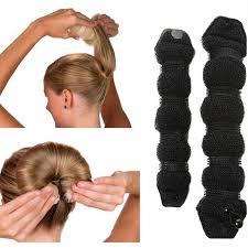 hair buns for hair hot buns hair style bun maker large size twist curler black beige