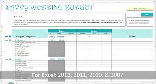 Numbers Budget Spreadsheet by Strategies For Creating A Realistic Wedding Budget