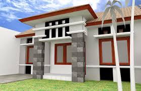 house style designing home pole terrace houses minimalist style