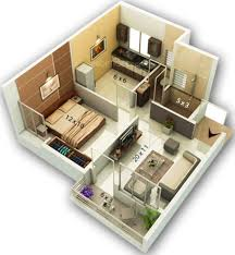 how big is 650 sq ft 650 sq ft 1 bhk 1t apartment for sale in golden sapphire titanium