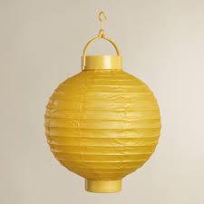 battery operated paper lantern lights yellow battery operated paper lanterns set of 4 world market