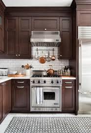 marron cuisine comment repeindre une cuisine idées en photos