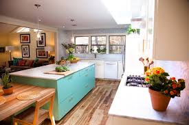 kitchen island with cutting board built in kitchen table kitchen eclectic with turquoise kitchen