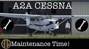 fsx a2a cessna maintenance time 1080 hd youtube