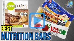top nutrition bars top 10 nutrition bars of 2017 video review