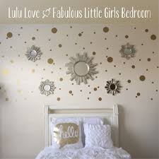 kids room design latest trend of polka dot wall decals for kids glamorous triangle pink traditional wooden bed unique red modern iron lamp rectangle white modern plastic tables