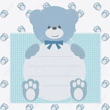 Shrimant Invitation Card Teddy Bear Baby Shower Invitations U2013 Gangcraft Net