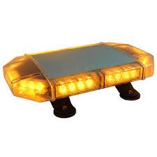 warning light bar amber china newest led amber mini lightbar tir lens strobe beacon bar for