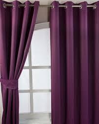 Aubergine Curtains Aubergine Herringbone Chevron Blackout Thermal Curtains Eyelet