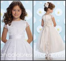 joan calabrese communion dresses 2016 joan calabrese lace organza gown flower girl dresses
