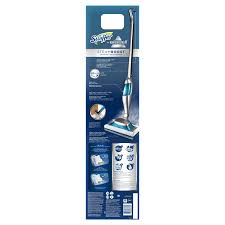 swiffer bissell steamboost steam mop half assembled starter kit